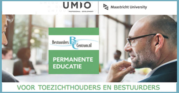 Masterclasses Bestuurders toezichthouders brancheorganisaties beroepsverenigingen pe-punten