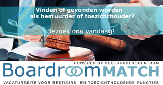 BoardroomMatch vacatures bestuur toezicht vereniging stichting