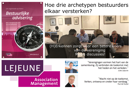 Archetype, bestuur, bijeenkomst, brancheorganisaties, beroepsverenigingen, bestuurders