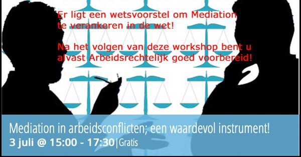 mediation, arbeidsrecht, bijeenkomst, bestuurders, toezichthouders